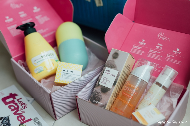 Althea Vitamin Box|我的旅后急救箱